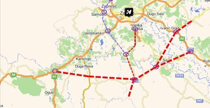 Sisak, Petrinja i Glina kao centralno-hrvatsko prometno čvorište