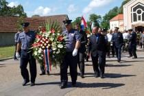Obilježba 21. godišnjice napada na Policijsku postaju Glina.