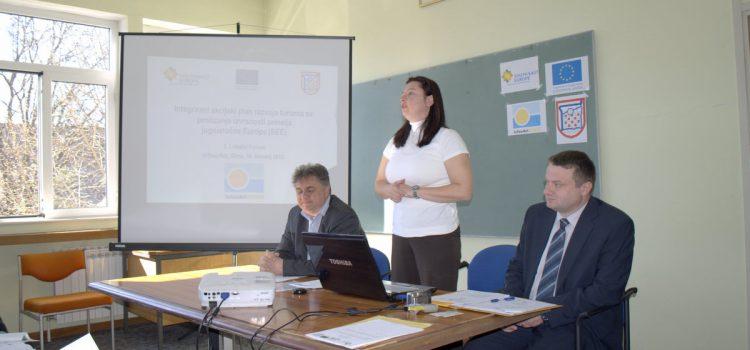 Iznimno uspješan prvi lokalni forum INTOURACT projekta Grada Glina