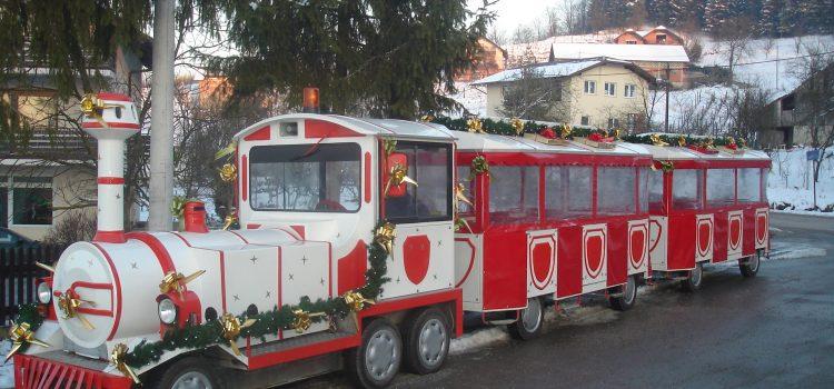 """Božićni sajam i vlakić """"Bubi"""""""