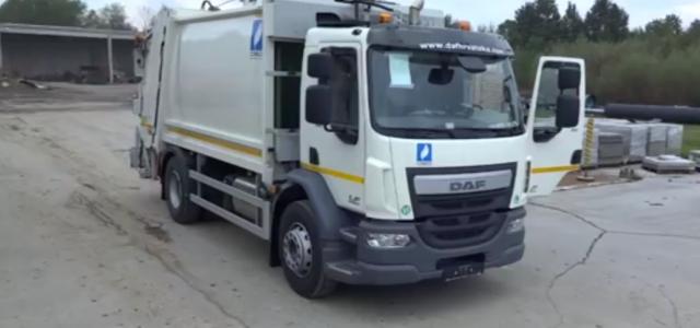 Specijalno komunalno vozilo s nadogradnjom zapremnine 16 m³ za skupljanje komunalnog otpada