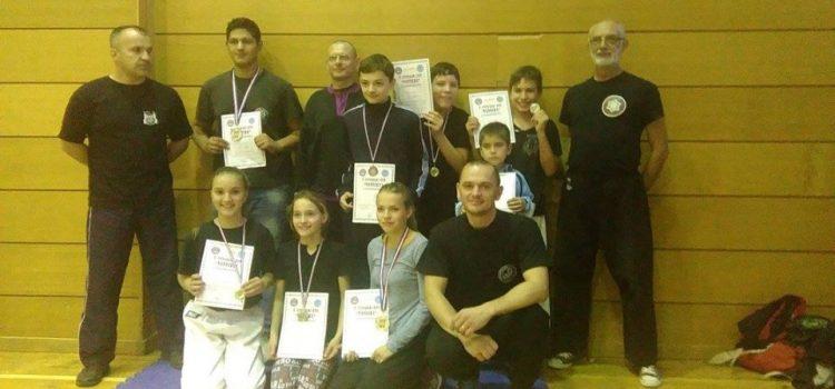 Glinski kung fu klub upisuje nove pobjede