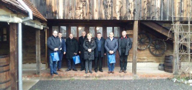 Izaslanstvo rumunjskog Grada Jimbolije u Glini