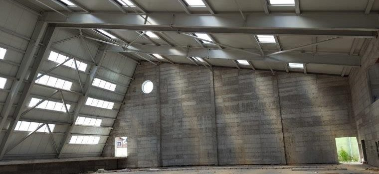 Nastavak izgradnje športske dvorane u Glini