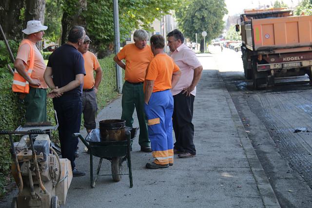 Završetak radova asfaltiranja ulica