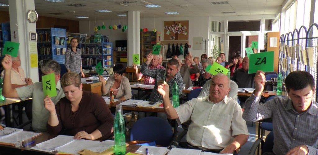 Održana 18. sjednica Gradskog vijeća Grada Gline