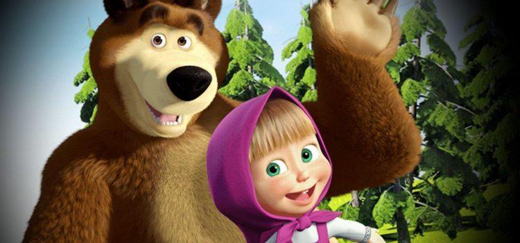 """Hit kazališna predstava za djecu """"Maša i medvjed"""""""