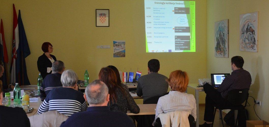 Informativno–edukativne radionice u Glini