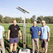 Solarni stup s bike servisom u Glini