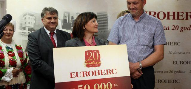 """Eurohercova akcija """"20 darova za 20 godina"""""""