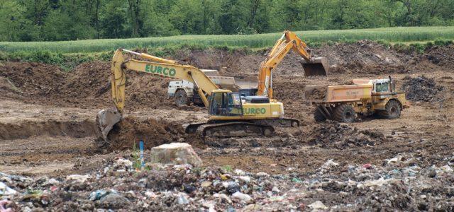 """Radovi na sanaciji odlagališta otpada """"GMAJNA"""""""