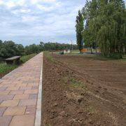Uređenje šetališta uz rijeku Glinu