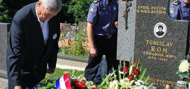 Obilježba 21. obljetnice početka oružanog otpora srpskom agresoru u Domovinskom ratu na prostoru Grada Gline