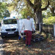 Razmještaj spremnika za pitku vodu po naseljima Grada Gline
