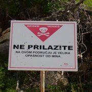 Zagađenost minsko eksplozivnim napravama u Gornjem i Donjem Viduševcu kod Gline smanjena za 105ha