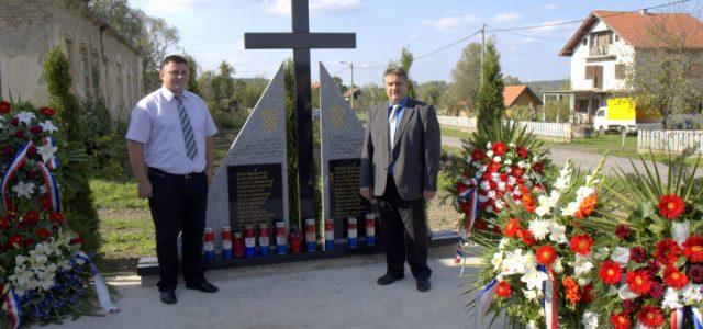 Svečano otvorenje spomen obilježja u Stankovcu
