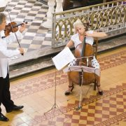 Program koncerta povodom uređenja obnovljene dvorane u Hrvatskom domu u Glini