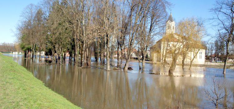 Proglašena elementarna nepogoda – poplava (04) za područja zahvaćena poplavom tijekom veljače 2014.