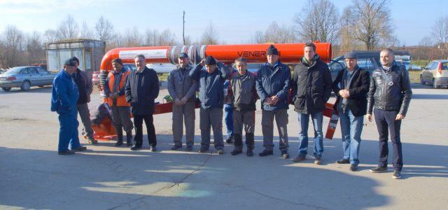 Grad Glina napokon je dobio mobilnu pumpu za ispumpavanje velikih količina vode na otvorenom