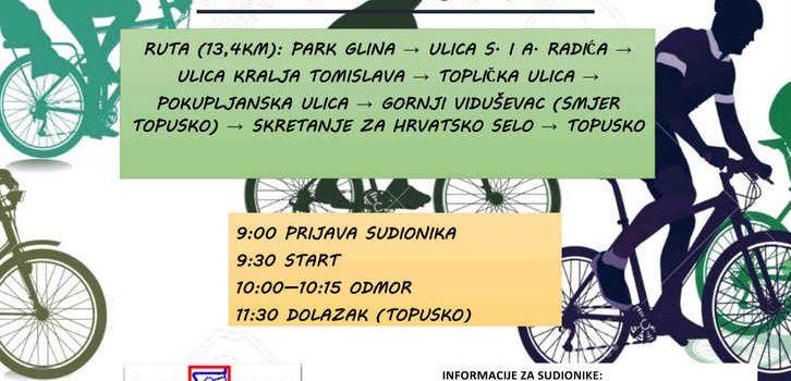 7. biciklijada u Gradu Glini 14.06.2015.