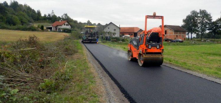Asfaltiranje lokalnih i nerazvrstanih cesta