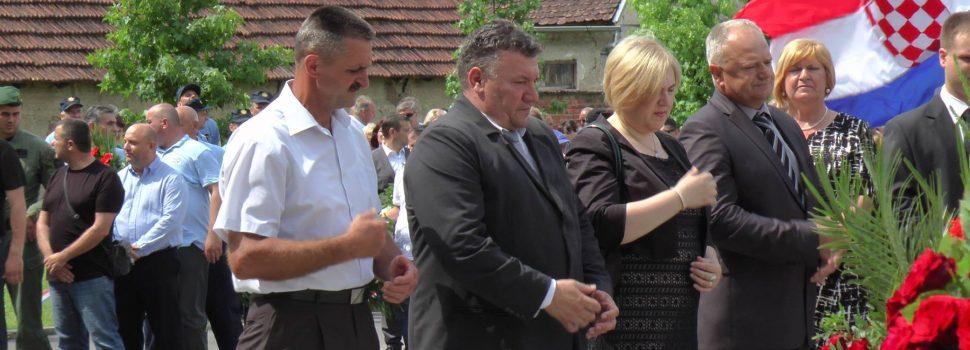 Obilježavanje 25. obljetnice početka pružanja oružanog otpora srpskom agresoru na području Gline