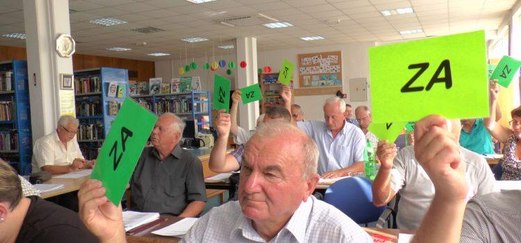 Održana 17. sjednica Gradskog vijeća Grada Gline