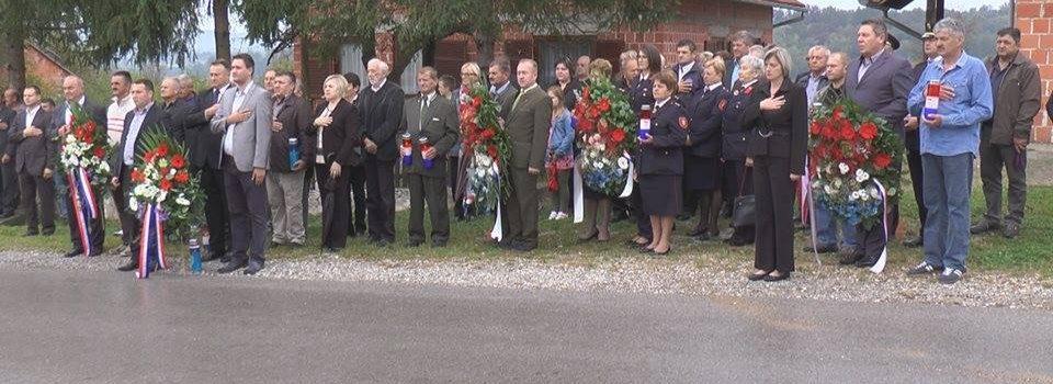 U Gornjoj Bučici obilježen Dan sjećanja na poginule branitelje i civile glinskog Pokuplja