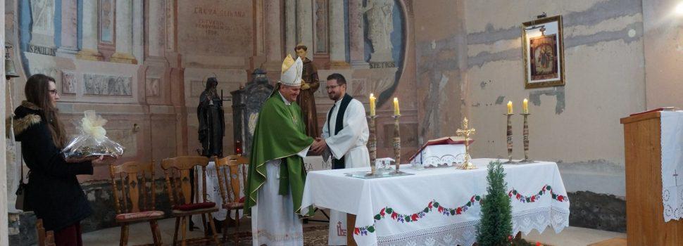 Pastoralni pohod biskupa Vlade Košića Župi u Bučici