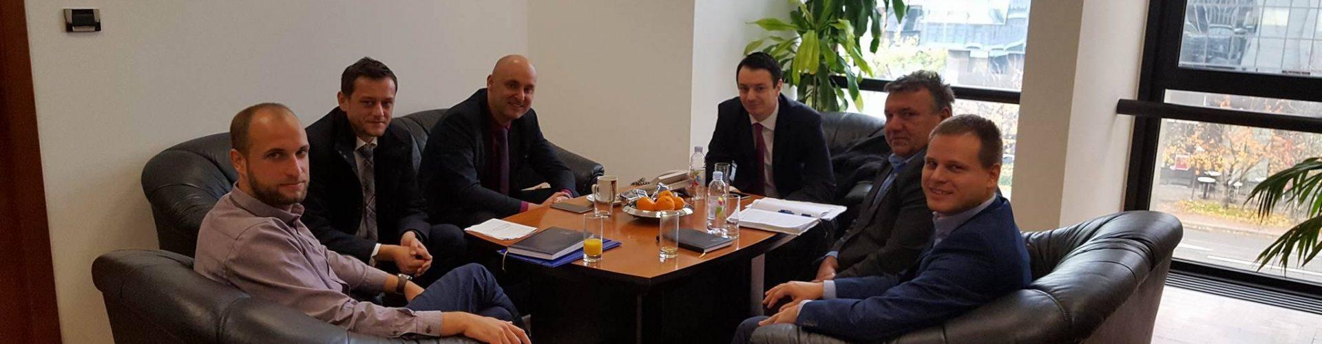 Gradonačelnik Kostanjević kod ministra Tolušića