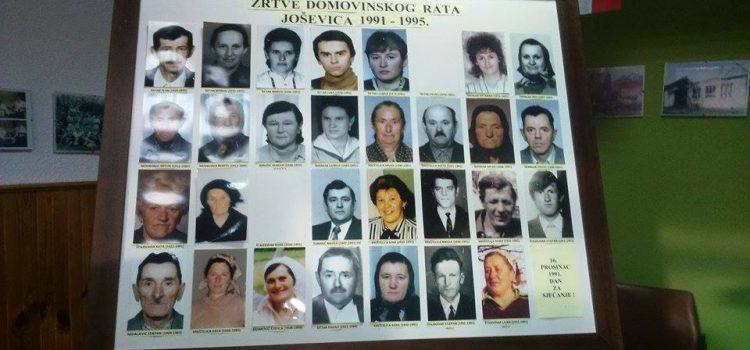 25. obljetnica masakra u Joševici