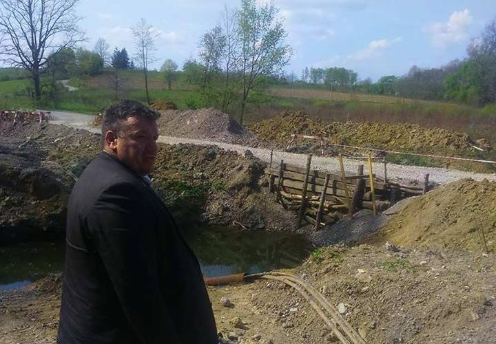 Novi mostovi u mjestima Zaloj i Gračenica Šišinečka