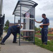 Nabavljene nove autobusne nadstrešnice