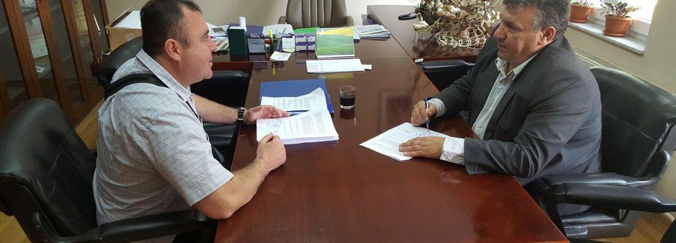 """Potpisivanje Ugovora o provedbi projekta """"Poduzetnički krediti"""""""