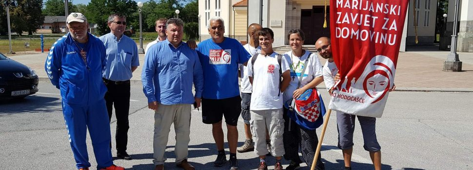 """Zavjetno hodočašće"""" Marijanski zavjet za Domovinu"""" u posjeti Gradu Glini"""