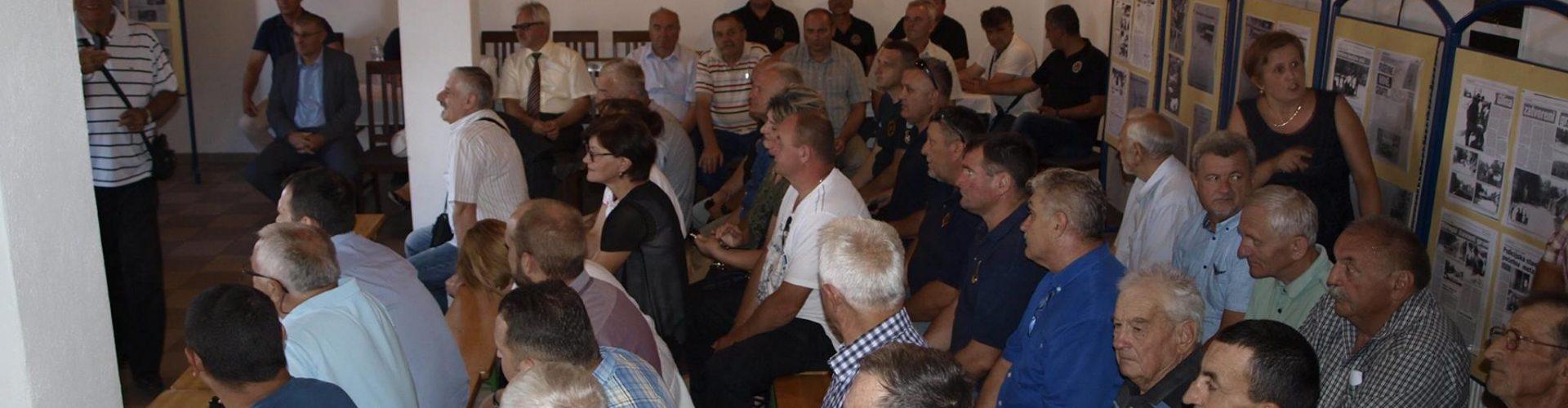 """Održan okrugli stol """"Uloga novinara u Domovinskom ratu"""" u domu Udruge Jukinac"""