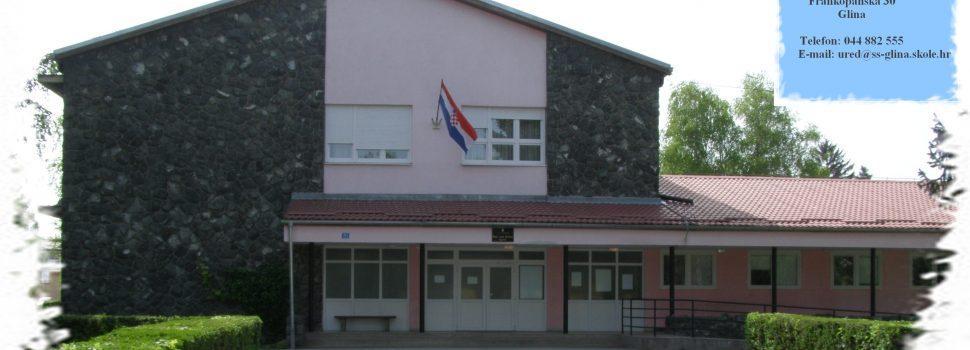 Obavijest o upisu: Srednjoj školi Glina odobren početak izvođenja programa za drvodjeljskog tehničara