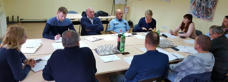 Sastanak Stožera civilne zaštite Grada Gline