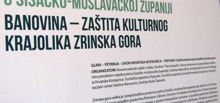 "Otvorena izložba ""Kulturni krajolik Zrinska Gora"""