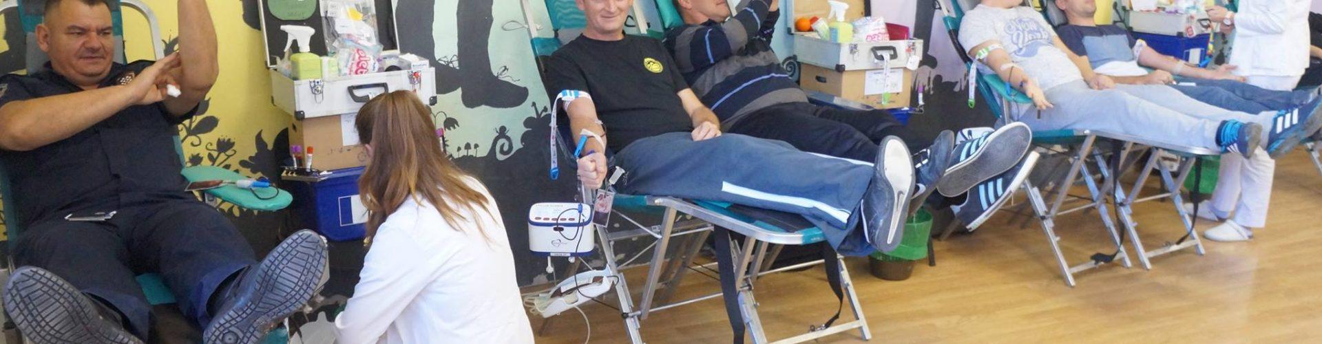 Svečani prijem dobrovoljnih darivatelja krvi kod gradonačelnika