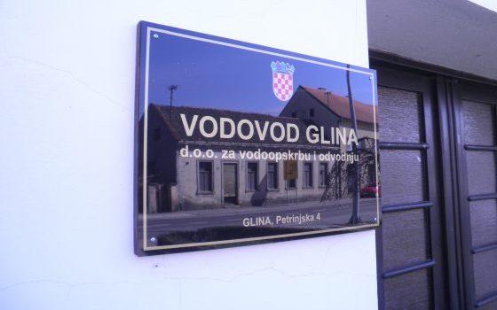 """Vodovod Glina d.o.o. potpisao s APPRR Ugovor o financiranju za projekt: """"Izgradanja spojnog cjevovoda Glina – Donje Selište"""""""