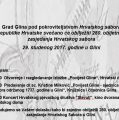 Svečano obilježavanje 280. obljetnice zasjedanja Hrvatskog sabora u Glini