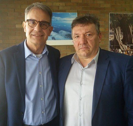 Gradonačelnik na radnom sastanku s ministrom turizma