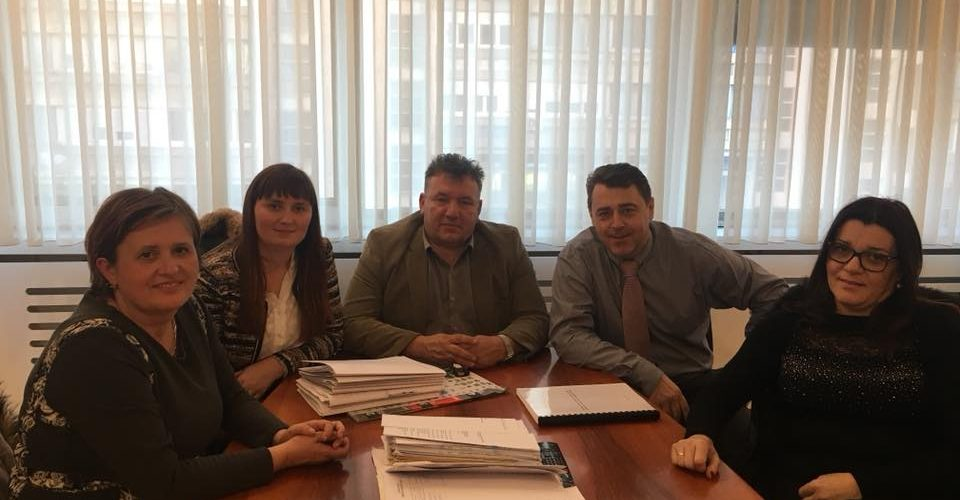 Gradonačelnik Stjepan Kostanjević sa suradnicima posjetio ravnatelja Državne geodetske uprave