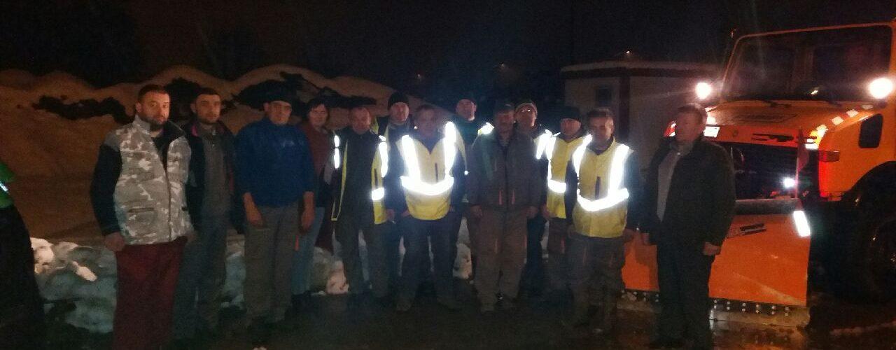 Gradonačelnik obišao djelatnike zimske službe