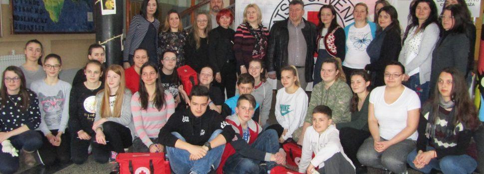 Održano natjecanje mladeži Gradskog društva Crvenog križa Grada Gline