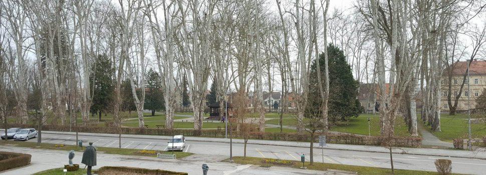 Za obnovu glinskog parka Gradu Glini odobreno 6.4 milijuna kuna