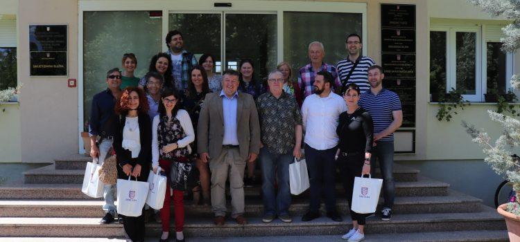 Prijem učitelja koji sudjeluju na projektu Erasmus+ vezano uz razvoj poduzetničkih vještina od najranije dobi