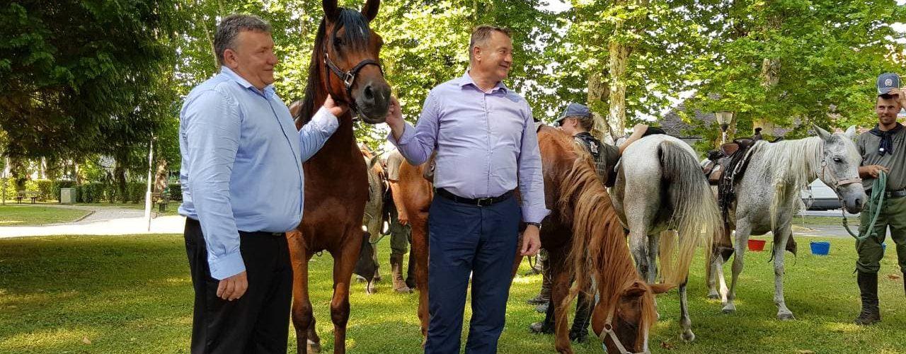 22. Konjanički maraton stigao u Glinu