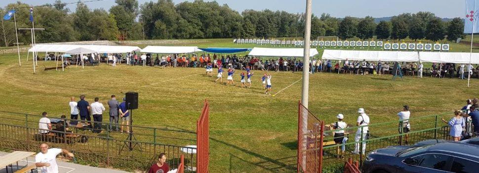 Prvenstvo Hrvatske u streličarstvu održano u Glini